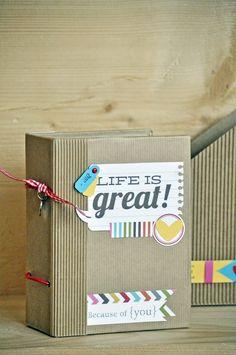 Tra poco sarà la festa del papà, occasione per regalare qualcosa di craftoso che sia in grado anche di esprimere l'amore che si prova per il...