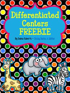 """Differentiated Reading Centers: """"Fulfilling the Promise of the Differentiated Classroom."""" p.61, Curriculum and Instruction that is focused."""