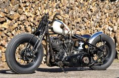 Bobber Inspiration | Knucklehead bobber | Bobbers and Custom Motorcycles