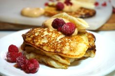 Waffles, Pancakes, Fika, Recipe For Mom, Cookie Desserts, Yummy Food, Delicious Meals, Food And Drink, Gluten Free