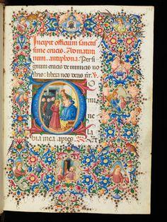 Genève, Bibliothèque de Genève, Comites Latentes 54: Livre d'heures · Florence · 1470-1480 Langue:Latin (http://www.e-codices.unifr.ch/fr/list/one/bge/cl0054).