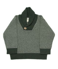 Take a look at this Pine Charmer Shawl Collar Pullover - Infant, Toddler & Boys by Loop Collection on #zulily today!