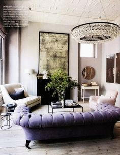 I love this room and the furniture in it. Elle Decor article features Niche Modern lighting in home of Ochre founders Decoration Inspiration, Room Inspiration, Interior Inspiration, Design Inspiration, Design Ideas, Interior Ideas, Design Design, Design Projects, Decor Ideas
