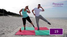 Ćwiczenia na wewnętrzną część ud Pilates, Cardio, Beach Mat, Outdoor Blanket, Activities, Running, Workout, Youtube, Sports
