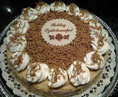 Gesztenye torta recept Tiramisu, Great Recipes, First Birthdays, Fondant, Biscuits, Sweet Treats, Birthday Cake, Pie, Cooking Recipes