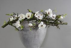 "--- Luxe decoratie stukken : Pot ""Natural White"""