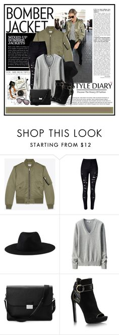 """""""Winter Style: Bomber Jackets..."""" by cindy88 ❤ liked on Polyvore featuring INDIE HAIR, Yves Saint Laurent, Element, Uniqlo, Aspinal of London, Urban Outfitters, LULUS, Hermès, Balmain and bomberjacket"""
