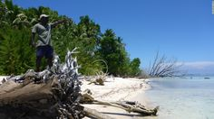 Five of the Solomon Islands have completely disappeared under water over the past seven decades, one drawing its last breath as recently as 2011.
