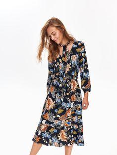 981307b215 Sukienka damska kolorowa - SSU2463 sukienka - TOP SECRET - Odzieżowy sklep  internetowy TOP SECRET