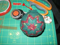 All Things Crafty: Christmas Folded Star Ornaments - Full Instructions