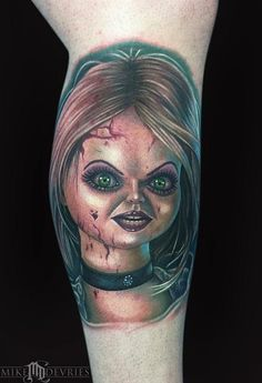 Mike DeVries - Bride of Chucky Tattoo