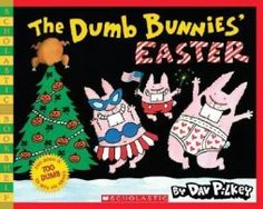 From the hilarious Dav Pilkey, the annual Easter bestseller that's so dumb it's actually about Christmas--now in Scholastic Bookshelf! From the mind of children's book creator Dav Pilkey comes another Easter Books, Silly Rabbit, Book Creator, Animal Books, Children's Picture Books, Reading Levels, Paperback Books, Dumb And Dumber, The Book