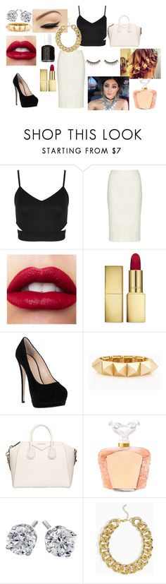 """""""kylie jenner look"""" by misskhadijakhanom ❤ liked on Polyvore featuring Lauren Conrad, Anatomy Of, Jason Wu, AERIN, Giuseppe Zanotti, Essie, Givenchy, Lalique, shu uemura and KylieJenner"""