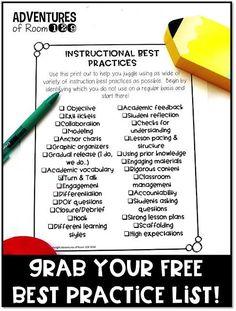 200 Instructional Best Practices For Teachers Ideas Teachers Classroom Teaching