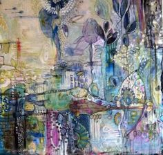 In the garden 3  'soulful' painting class jan 18 & 19....more info on my blog link above!