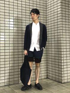 Y's Wardrobe: 【kolor uniqlo paraboot】kolorにノーカラー
