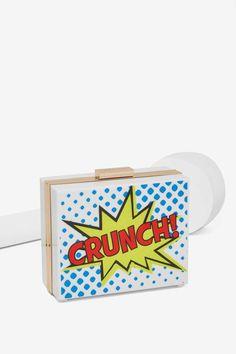 Skinnydip London Crunch Clutch