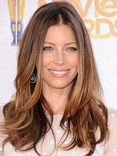 gorgeous much higher up ombre. def. looking at the upper brown & a little below it for mine..?