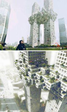 20 Stunning Futuristic Skyscraper Concepts You Must See