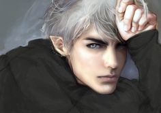 Elf with white hair Fantasy Art Men, High Fantasy, Fantasy World, Character Inspiration, Character Art, Empire Of Storms, Throne Of Glass Series, White Hair, Fantasy Creatures