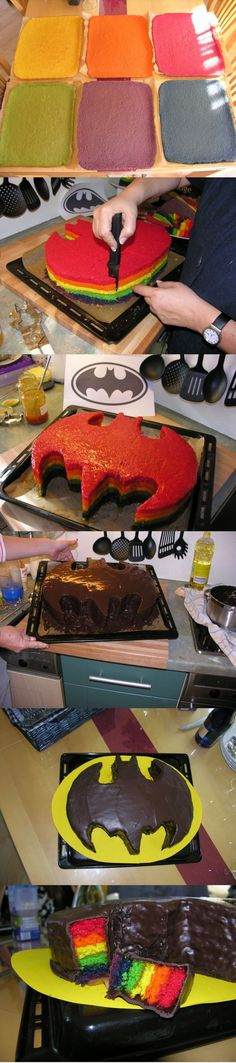 Most Awesome Batman Cake EVER.