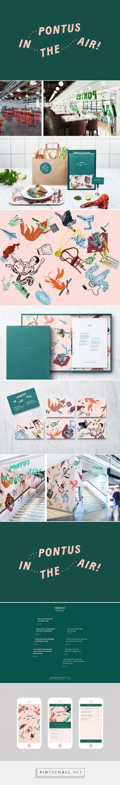 New Branding for Pontus In The Air by Bold — BP&O... - a grouped images picture - Pin Them All