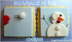 Imagen de Cookies, snowball, winter and fun
