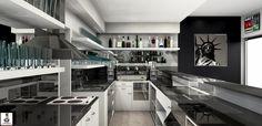 Max Arredamento's Nice first Job 36030 Sarcedo (VI) Vicenza-Italia -  Made with Palette CAD - Made with FUN Conference Room, Palette, Nice, Kitchen, Table, Fun, Furniture, Home Decor, Italia