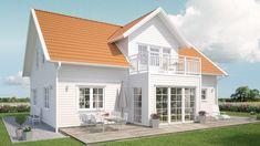 Solhaga Vit Home Fashion, Pergola, Villa, Mansions, House Styles, Outdoor Decor, Sims, Home Decor, Hair