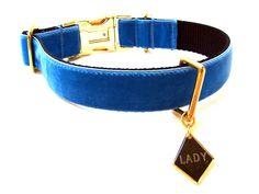 Cute! Lady and the Tramp Custom Dog Collar Disney Dog Collar. $35.00, via Etsy.