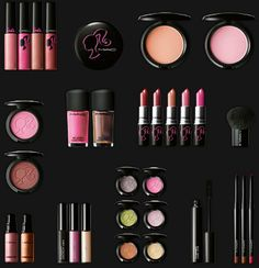 mac makeup, pink,
