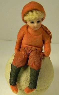 German Antique Doll Candy Container