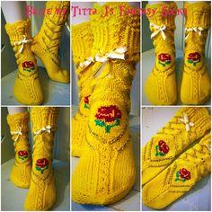 Belle socks by Titta J's Fantasy Socks