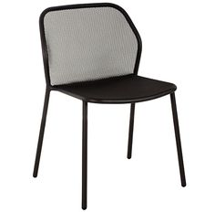 Darwin Side Chair   Made In Italy By Emu. Stackable Outdoor Powdercoat  Steel Dining Chair