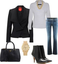 """""""back to work"""" by mtnbke4fun ❤ liked on Polyvore"""