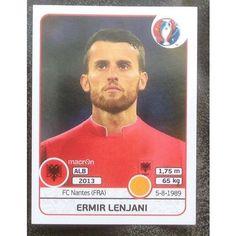 Football Soccer Sticker Panini UEFA Euro 2016 #80 Albania