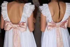 vestidos de pajecitas de boda - Buscar con Google