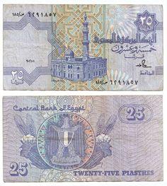 Egipto-25 Piastras