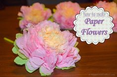 How+to+Make+Paper+Flowers