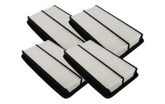4-Pack Rigid Panel Air Filters 1.58 x 6.9 x 11.98 Part #CA10013 & A25651 for Honda & Acura