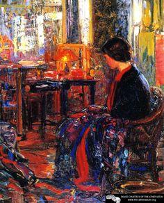 Joseph Kleitsch, 'The Oriental Shop' (1925)    American Impressionist, (1882-1931)