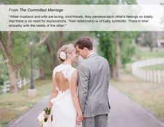 From the Committed Marriage // Ceremony Readings from TheKnot.com