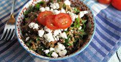 Recipe: Lentil and Feta Tabbouleh | Greatist