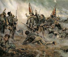 The 14th North Carolina, Spotsylvania, May 12, 1864.