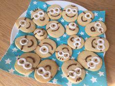 Biscuit au citron Minions pour la fête d'anniversaire de mon fils!