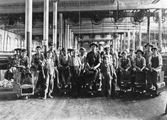 lewis hine photographs | here are some of lewis hine s group photos of mill workers