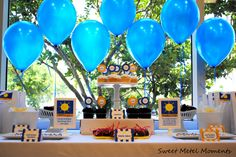 graduation table decorations | Graduation Party Dessert Table and Candy Buffet Ideas! | Sweet City ...