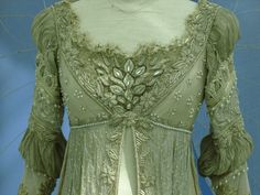 "Ever After Costumes    ""Just Breath"" dress, comparative to 1490's Venetian dress"