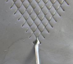 Pointe de flèche outil pour la création d'échelles dragon & serpent moyen taille 5 mm