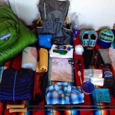 Continental Divide Trail Gear List